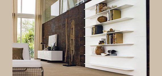 Modern living room storage organization ideas #home #organization #livingroom