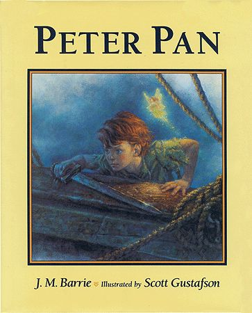 Peter Pan, J.M. Barrie's classic tale, took Scott Gustafson over four years to complete, as it contains over fifty oil paintings.