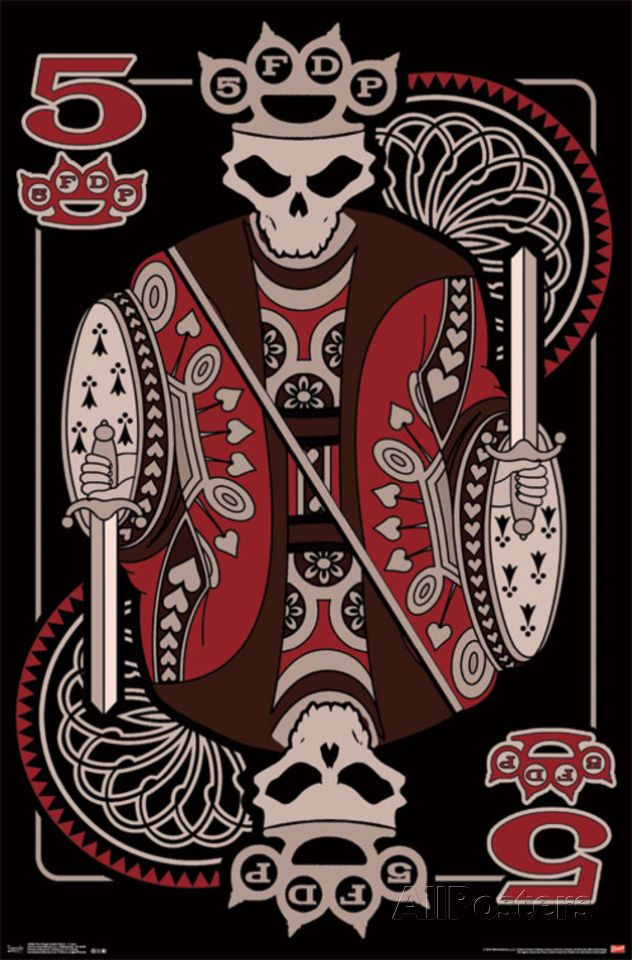 Five Finger Death Punch - 5 Card Poster at AllPosters.com
