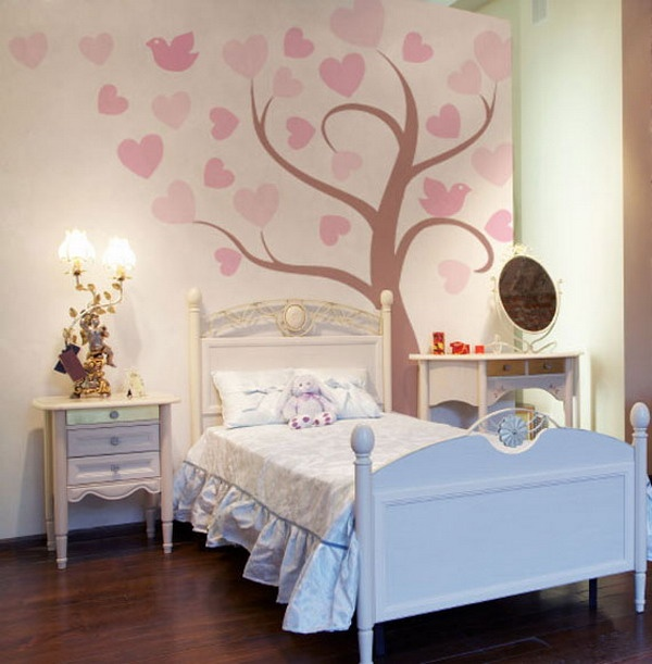 This Would Be Easy To Paint And Would Look Cute In Lindau0027s Room. Girls  Bedroom MuralWall ... Part 69