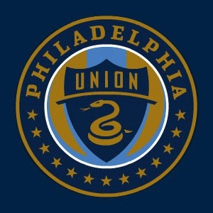 Philadelphia Union Logo MLS Soccer). I think this is one of the best sports logos out there. While many logos go with a stylistic image or letterform which becomes iconic over time (example NY Yankees, Green Bay Packers). The Union logo represents the city's history through iconic imagery (13 stars, Join or Die Serpent, Union colors): Sports Team, Logos Mls, Philadelphia Union, Soccer Team, Mls Philadelphia, Union Logos, Philly Sports, Green Bays Packers, Team Logos