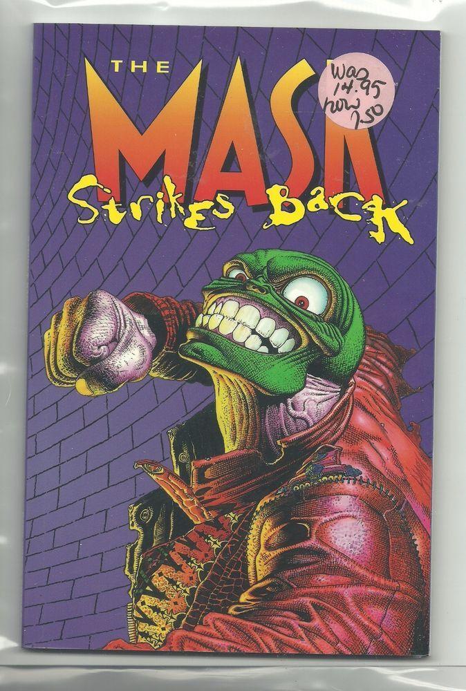 (1996) DARK HORSE COMICS THE MASK STRIKES BACK TPB - 1ST PRINT