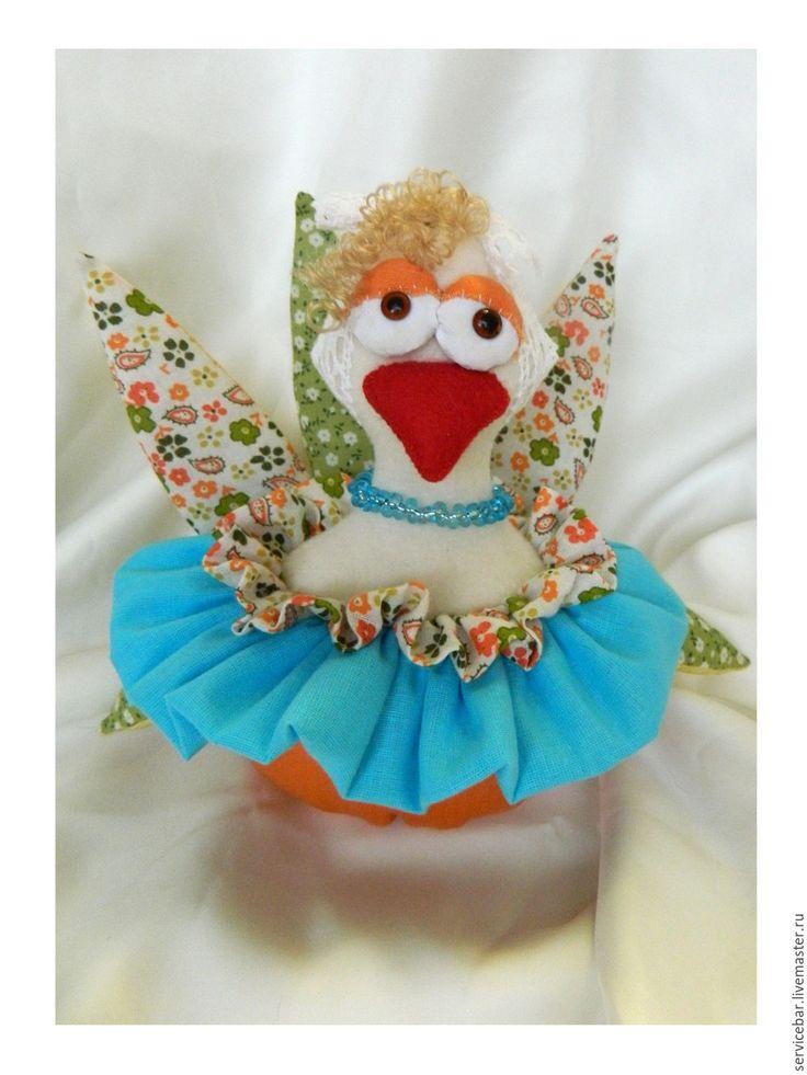 Купить Игрушка текстильная Курица - курица, курочка, игрушка ручной работы, Новый Год, 2017 год, подарок, игрушка текстильная.