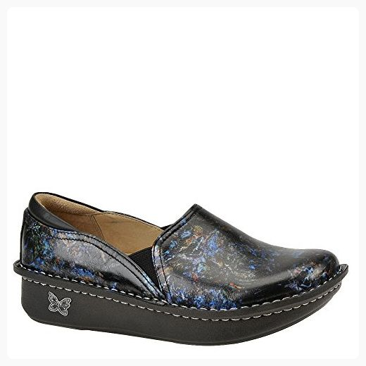 ANBOVER Women's Driving Shoes Casual Leather Flat Loafers Blue 38 N5afWLHJtL