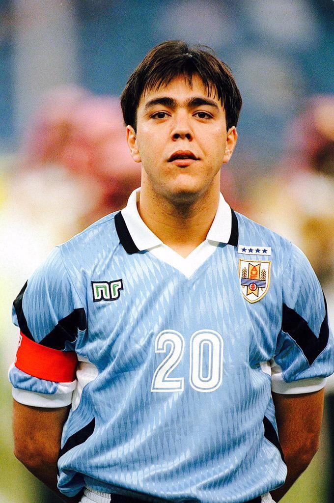 Alvaro Recoba avec l'Uruguay