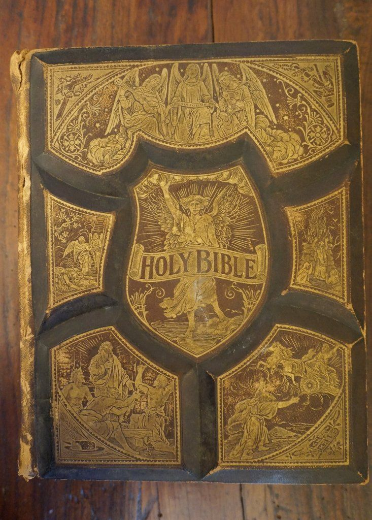 Pronouncing Parallel Bible 1892