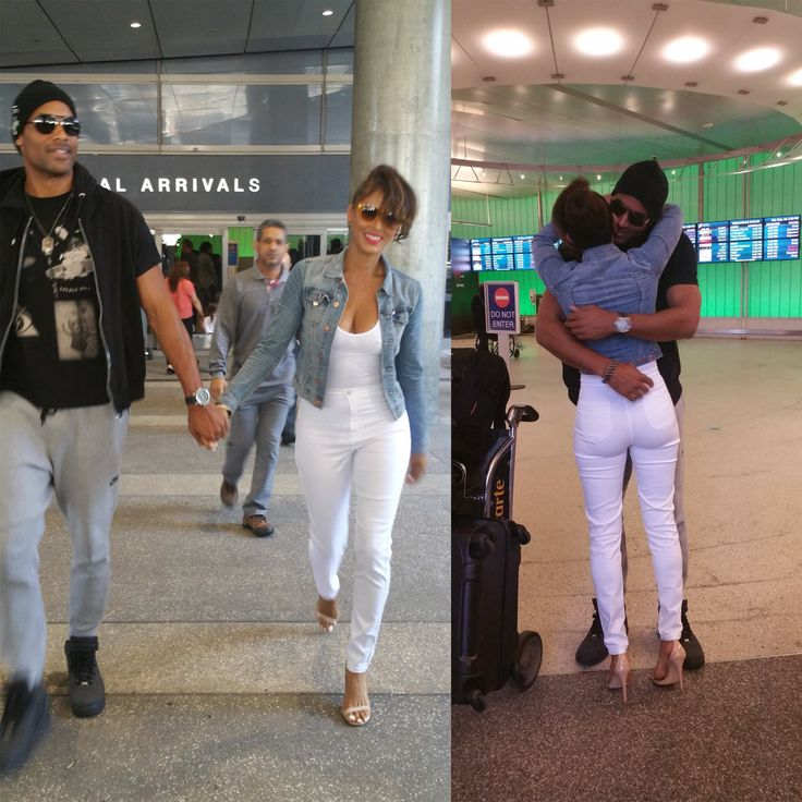 TOUCHDOWN! Boris Kodjoe just arrived moments ago. Here are some reunion pics with his love, Nicole Ari Parker!!! #Family #reunion #RealLife #RealLove #RealTalk #BorisKodjoe #NicoleAriParker #BorisandNicole #July6