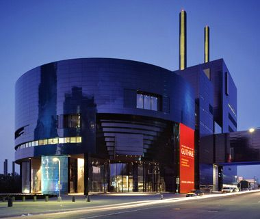 The Guthrie Theater, Minneapolis:  Christmas Carol!  In both the new and the old building.