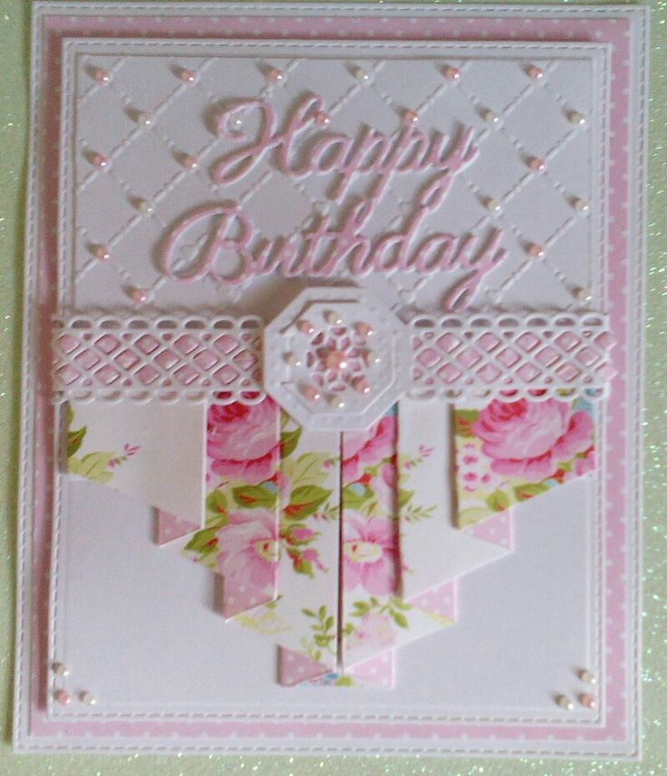 Pretty Pleated Card