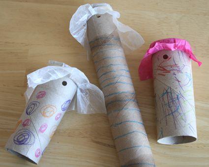 Noise maker craft for kiddos