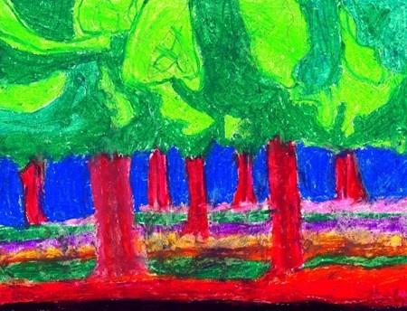 Emily Carr: The Cedar Forest - Artsonia Lesson Plan
