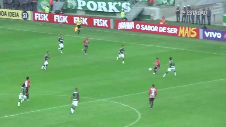 Palmeiras goleia São Paulo por 4 a 0; veja os lances