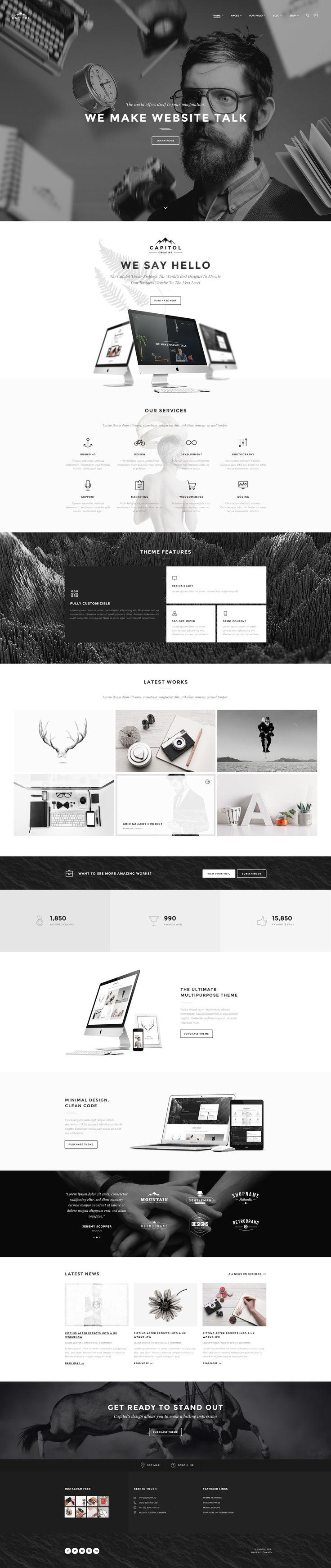 31 Best Webdesign Images On Pinterest Website Designs Website