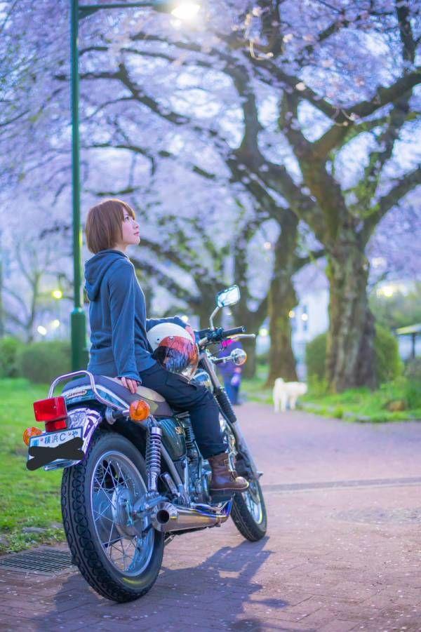 カッコ良すぎ 意外にもバイク乗りの美人芸能人ランキング h dream バイク乗り 自転車ガール 芸能人 バイク