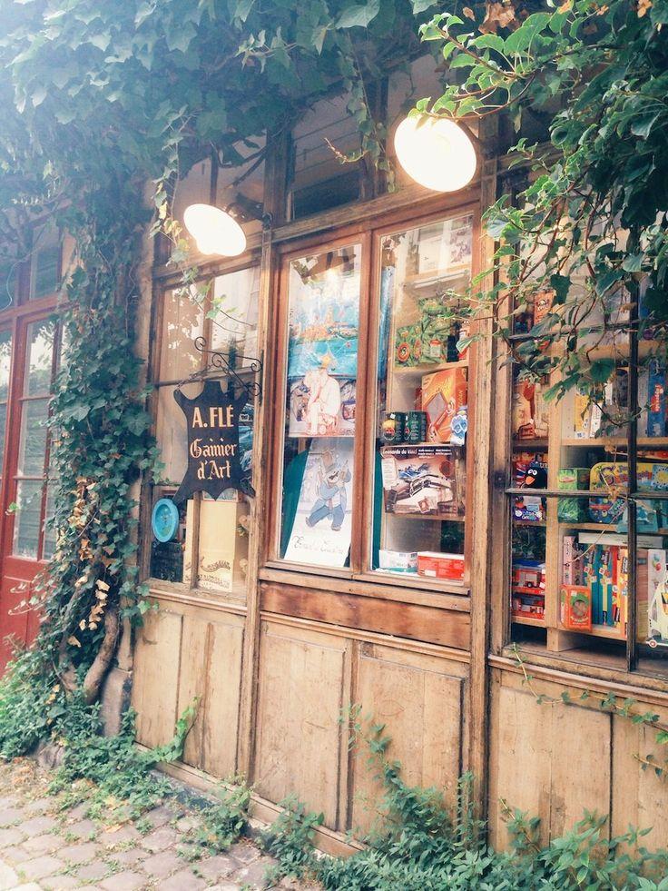 Passage L'homme, un coin typique de Paris