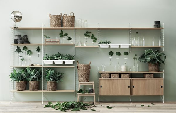 String Bowl Shelves | Scandinavian Deko