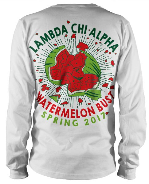 Lambda Chi Alpha Watermelon T-shirts