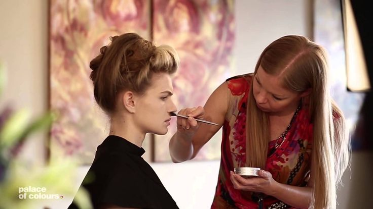 """Take a look at the """"making of"""" video for the make-up and photoshoot for KRYOLAN campaign."""