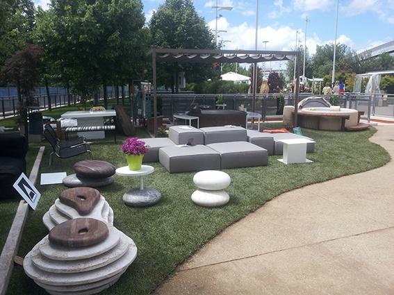 Questo è lo stand di Materia Applicata al Festival del Verde e del Paesaggio Auditorium Parco della Musica 17 18 19 maggio!!