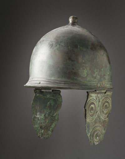Etruscan helmet, 3rd Century BC