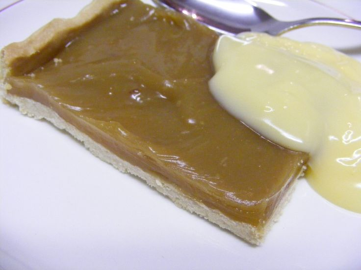 RECIPE- Butterscotch tart - The baking lady