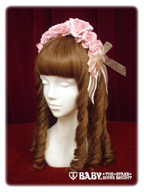 Baby, the Stars Shine Bright: ミカエルの祝福 ローズカチューシャ/Bless From Michael Rose Headband. Looking for the navy colorway only.