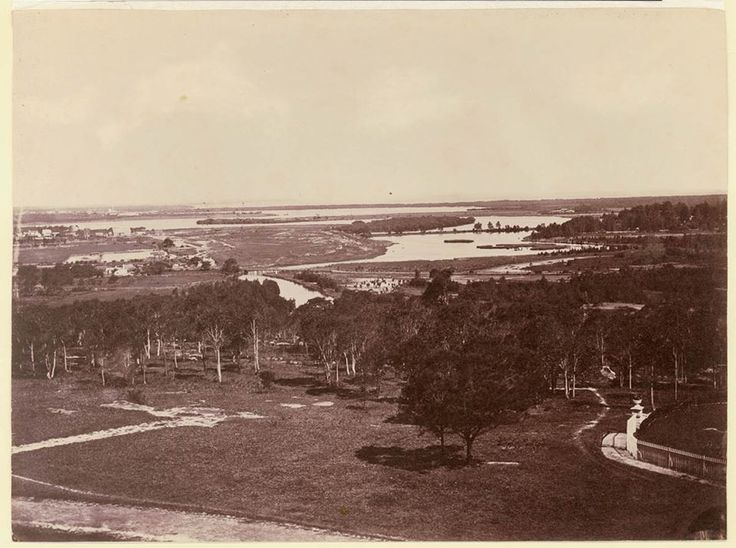 1860 View across Cooks River towards Botany Bay