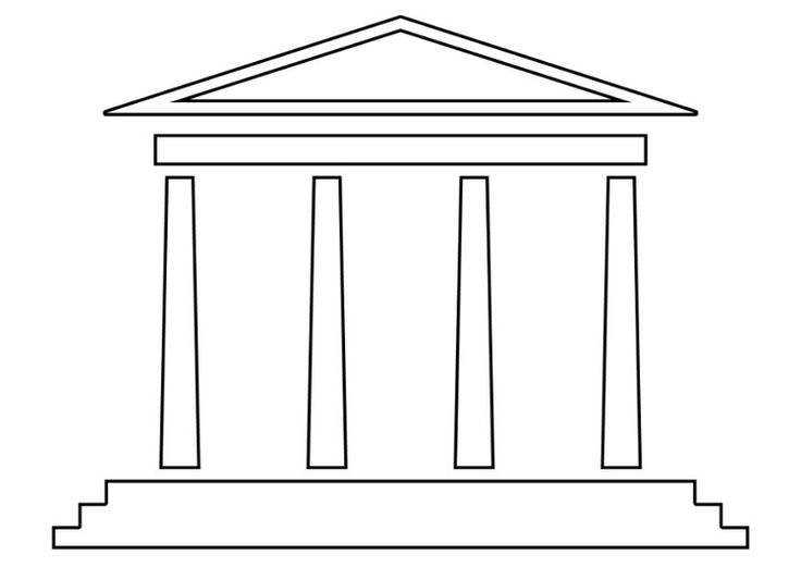 1 Kings 61 866 Solomon Built The Temple Coloring Page
