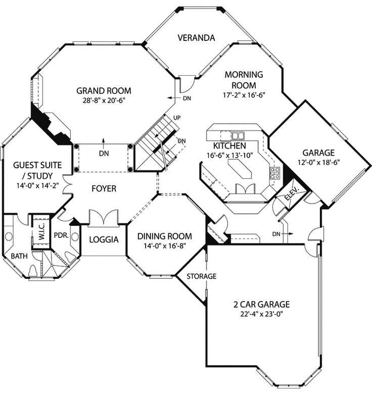 f8c98eebd272412484bf4d253601704f new house plans house plans and more 67 best floor plans images on pinterest,Luxury Guest House Plans