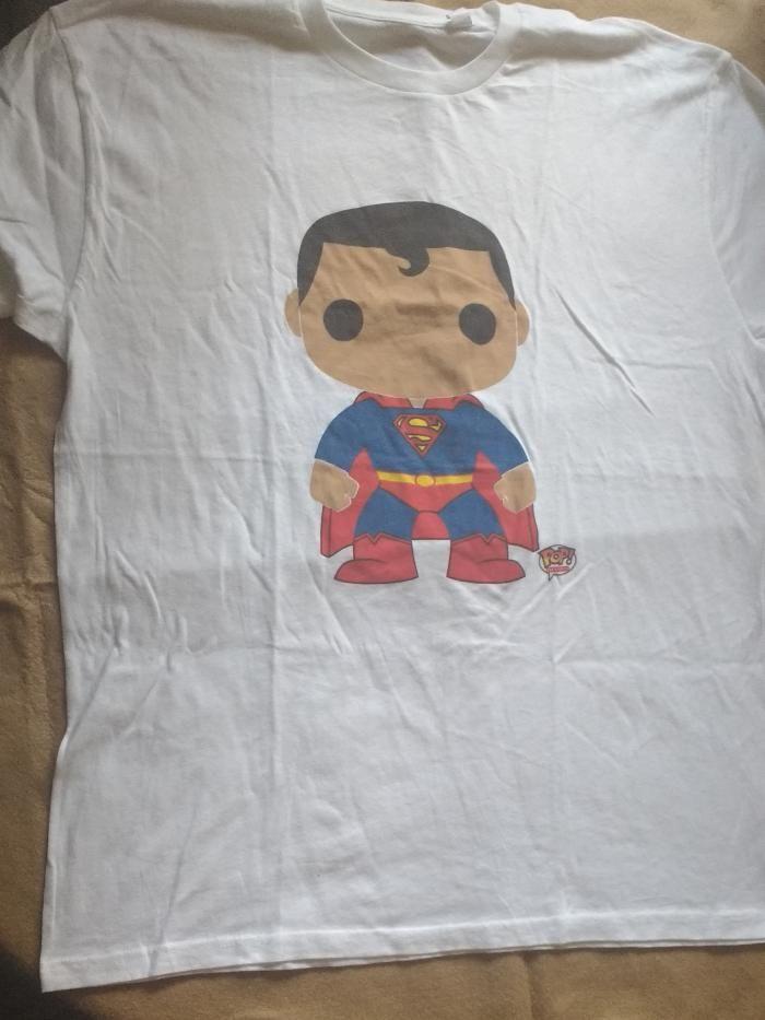 76491e2a456 Playera Superman Pop Heroes Nueva (Sin etiqueta) $ 100 Playera ...