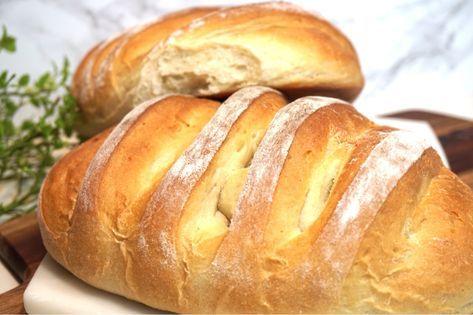 Fantastiskt gott grekiskt lantbröd som blir riktigt gott ihop med en grekisk sallad, testa att göra det på direkten. Otroligt gott!