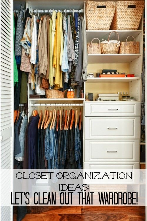 Spring Closet Organization Ideas: Lets Clean Out That Wardrobe!