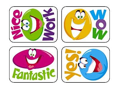 TREND's Smiley Faces Applause reward stickers contain motivating messages and vibrant designs that make it easy to inspire children of all ages Acid-free, non-toxic, and safe for use on photos.