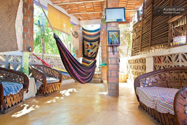 Chillum Surf House Private bedroom in Sayulita