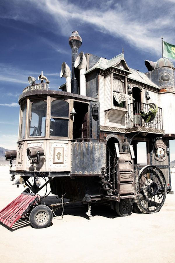 This is the coolest mobile home ever built... Wait until you see how awesome it looks inside!