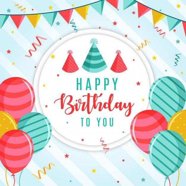 お誕生日おめでとうベクトルの背景 バースデー バナー 誕生日のアイデア お誕生日おめでとう