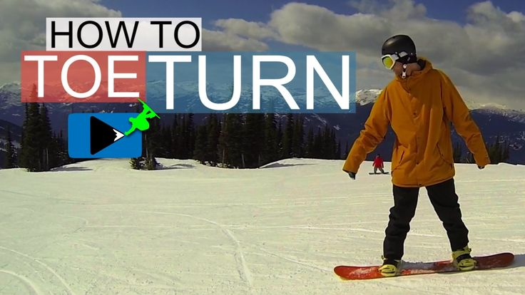 Learn how to toe turn in this beginner snowboard video. When you first start snowboarding turning onto your toes can be difficult, but I've got three tips to...