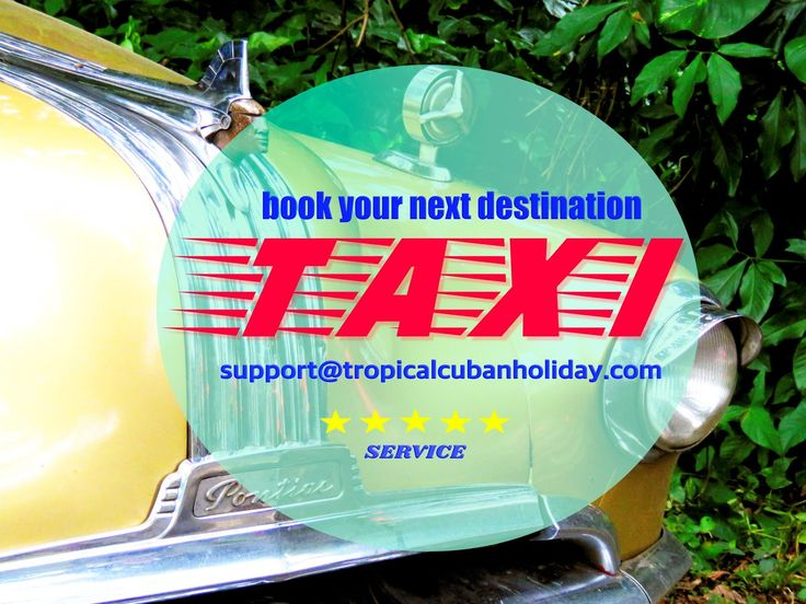 www.tropicalcubanholiday.com Cuba Taxi Transport Service Excursion