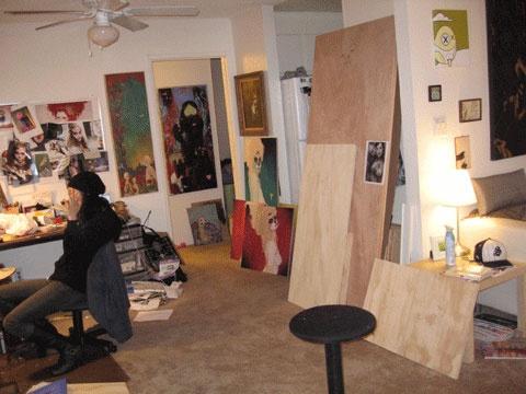 Juxtapoz Magazine - Sylvia Ji - Studio Visit | Features