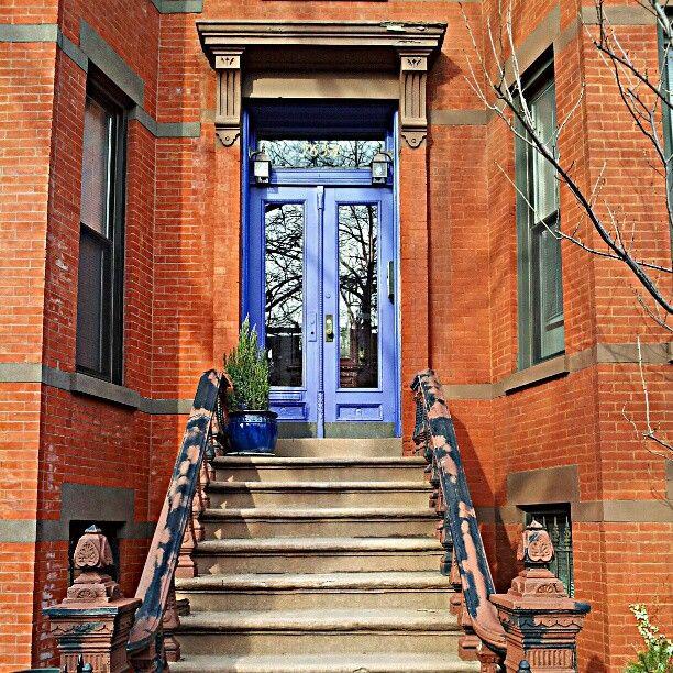 Brooklyn Door No. 2 by cassiclaire & 12 best Front Doors u0026 Lights images on Pinterest | Entrance doors ...