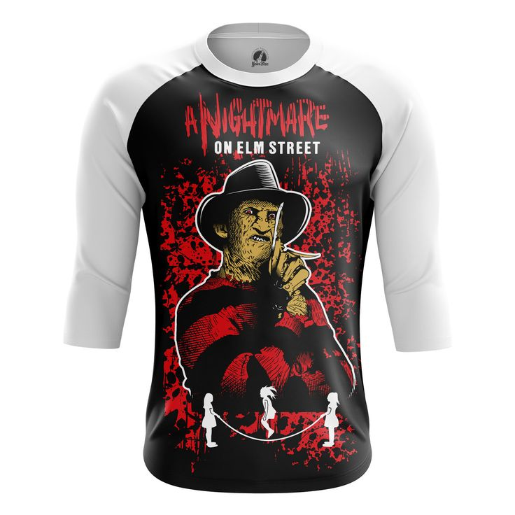 Unique Mens Raglan Nightmare on elm street   – Search tags:  #boysclothes #Buymensraglansuk #menclothes #mensraglanaustralia #mensraglancanada #moviesmerchandise #raglanforboys #tvseriesmerchandiseRaglanT-Shirts Check more at https://idolstore.net/shop/categories/apparels-clothes/boys-raglan-nightmare-on-elm-street-collectibles-merchandise/
