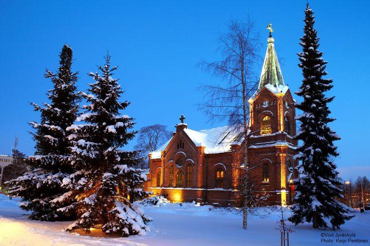 Jyväskylä city church. ©Visit Jyväskylä  Photo: Keijo Penttinen.