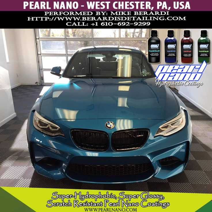 BMW M2 After Ceramic Coated by Berardi's Detailing Nano coating is a unique form of protection that will leave behind a hardened high silica-content glass barrier between your paint and harmful environmental elements. Contamination will not readily stick to the surface. Water will even bead and roll off the surface like never before.Pearl Nano is taking over the ceramic industry because it's proven and tested more effective than others in the maret. Visit @ www.berardisdetailing.com /