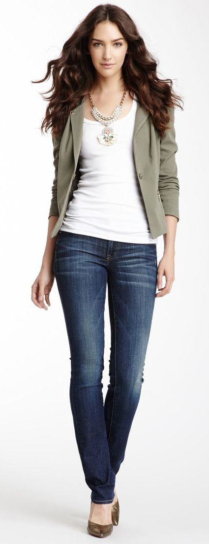 Liam Straight Leg Jean - Love these jeans. Too many pairs of skinny in my closet. Need a change.