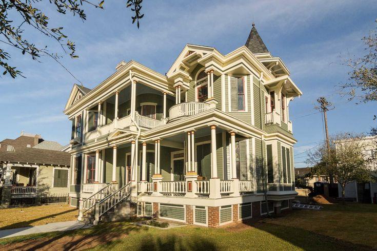 The Galveston Historic Homes tour showcases nine houses