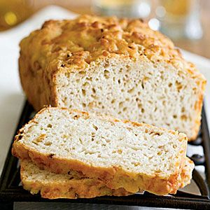 I've been making this bread since  2008, when the recipe was printed in Cooking Light.  I've used so many different substitutions over the years, depending on what I have on hand. Do yourself a favor, make this bread!  Basic Beer-Cheese Bread | MyRecipes.com
