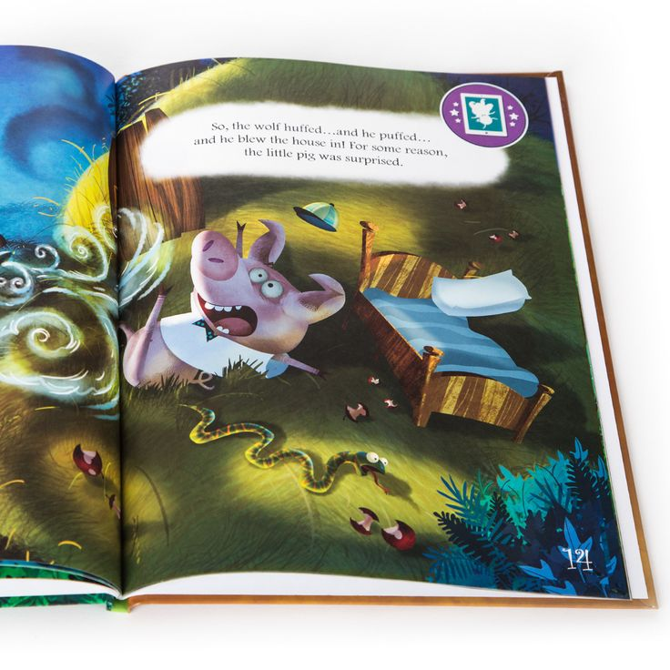 The Three Little Pigs Reimagined - Bring your stories to life in 3D! #incredebooks