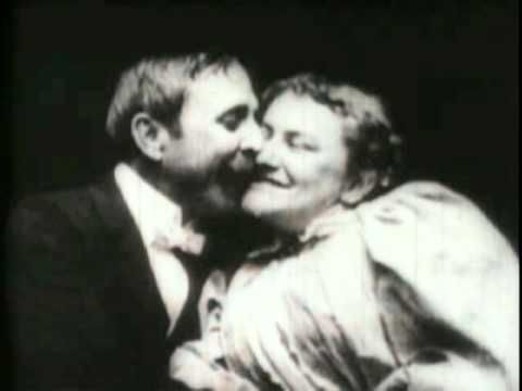 The world's 1st movie kiss - The May Irwin Kiss (1896) - William K.L. Dickson | William Heise | Thomas Edison - Happy Valentine's Day! #valentine
