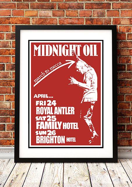 Midnight Oil - 1981