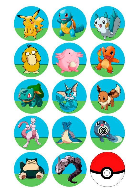 Papel de azúcar nº 641 Pokemon - Postreadicción